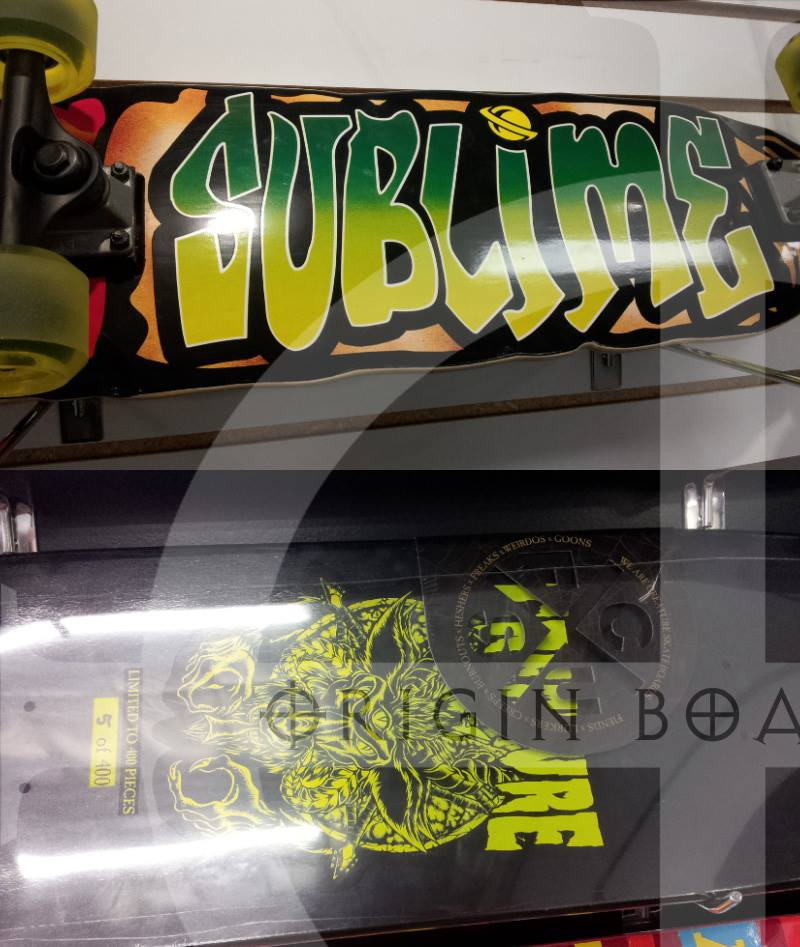 Creature & Sublime Complete Skateboards and Decks