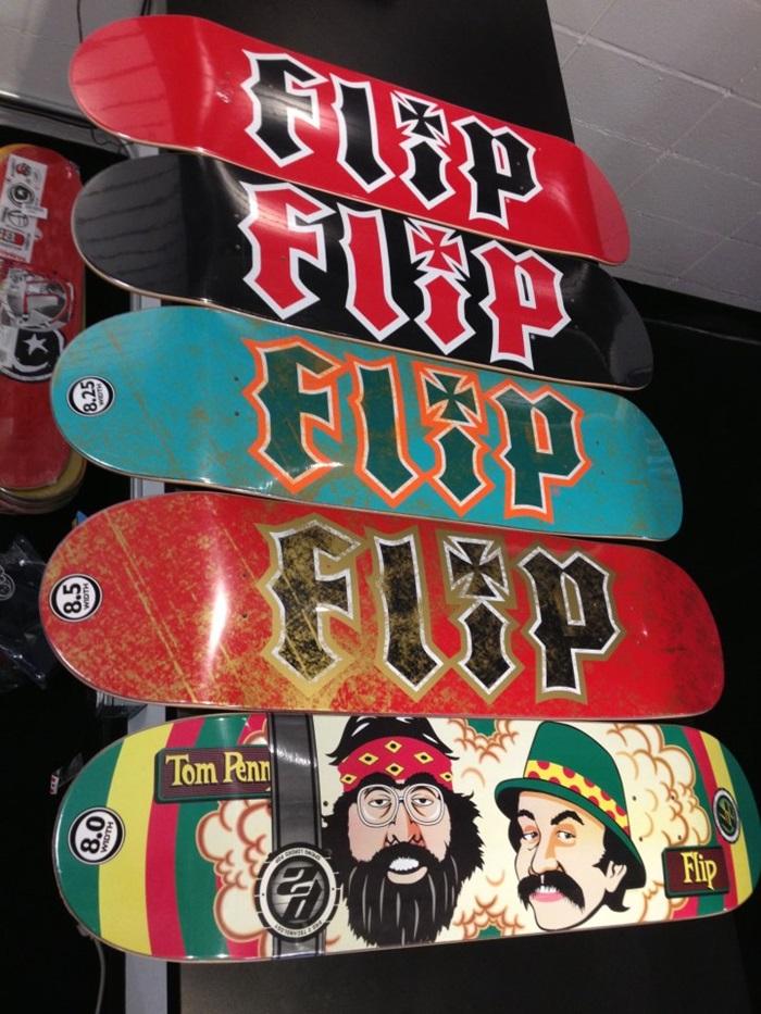 Flip Decks, OG Flip and Cheech and Chong decks
