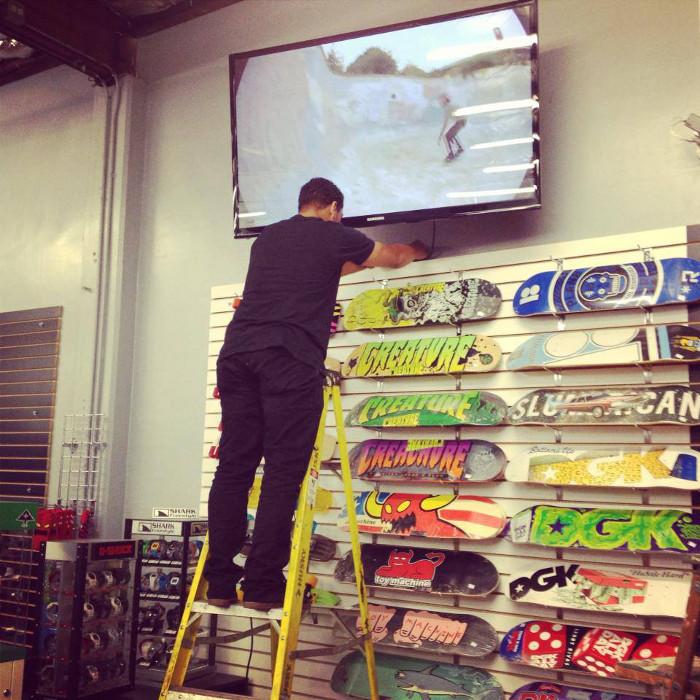 TV for Skate Videos