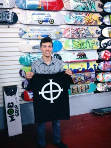 Christian Castro is another student from Canyon High School reppin Origin Boardshop!