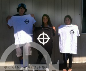 Introducing Anthony, Toni and Naidelyn from Buena Park Highschool... via Christopher Flores.. Fresh Origin tees...
