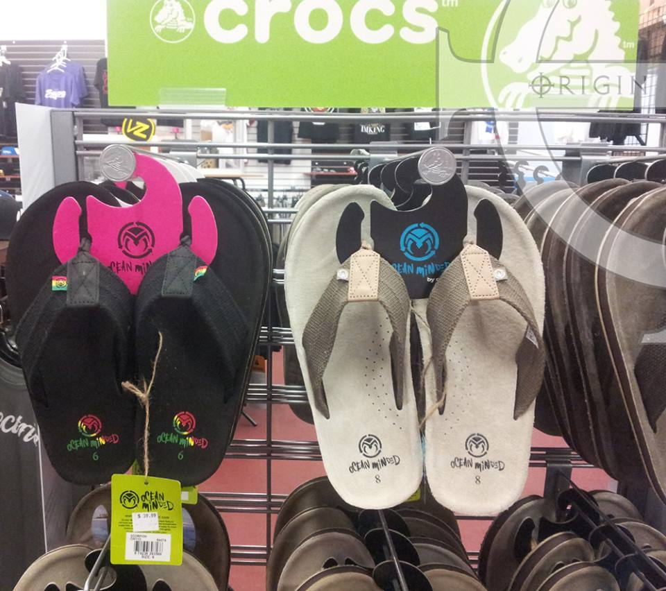 Ocean Minded Crocs Sandals