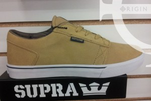 Supra shoes in natural suede