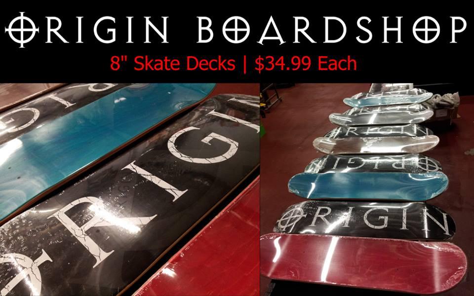 Origin 1st Generation Skate Deck