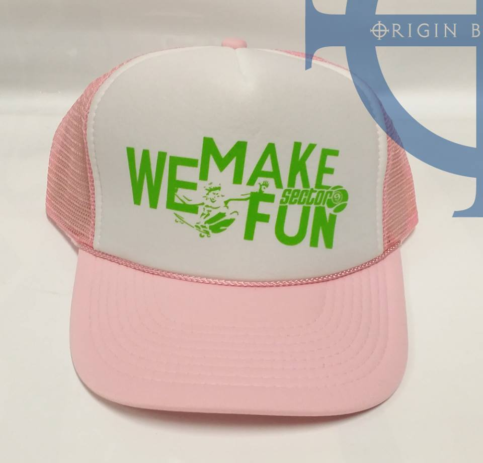 Sector 9 We MAke it Fun Pink Hat