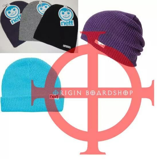 Neff Beanies Raffle on Saturday... Origin Boardshop