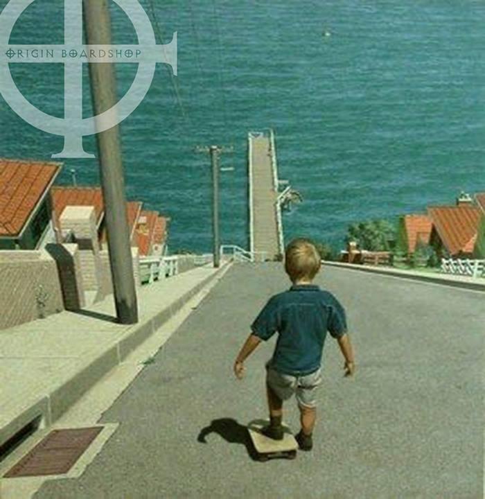 skateboarding kid