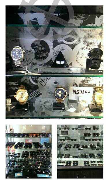 watches and shades