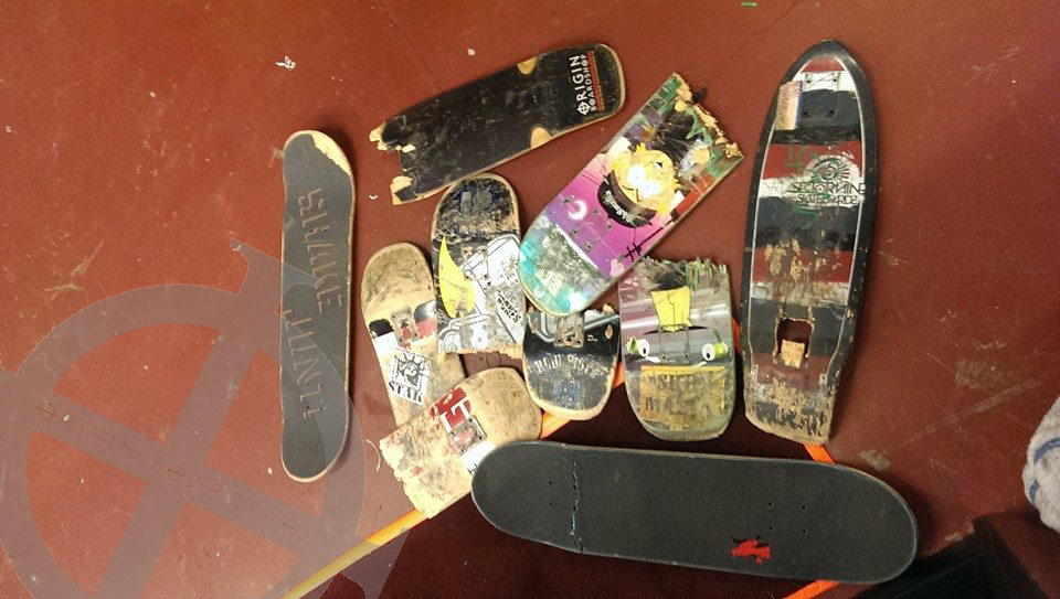 snapped decks