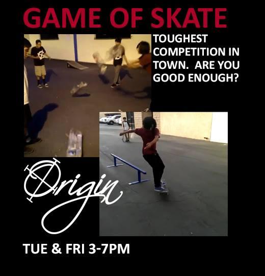 origin ad for skate games