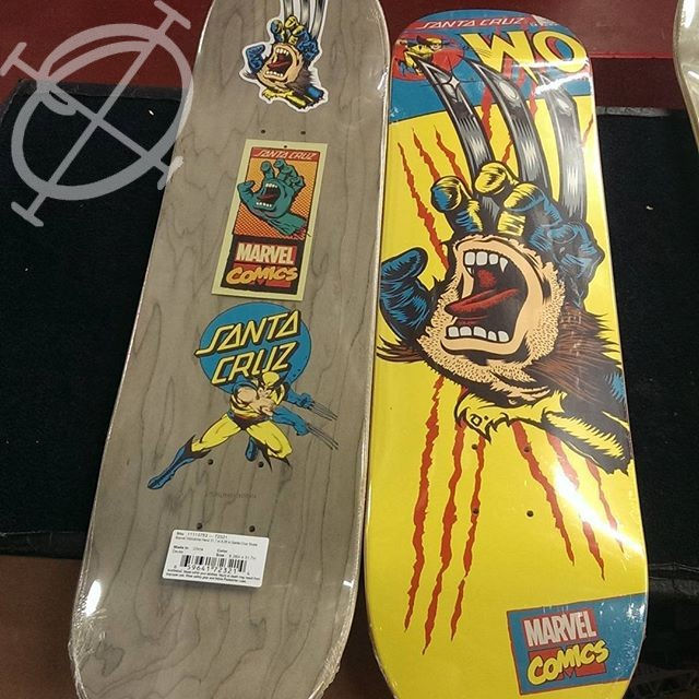 Santa Cruz Marvel skate decks